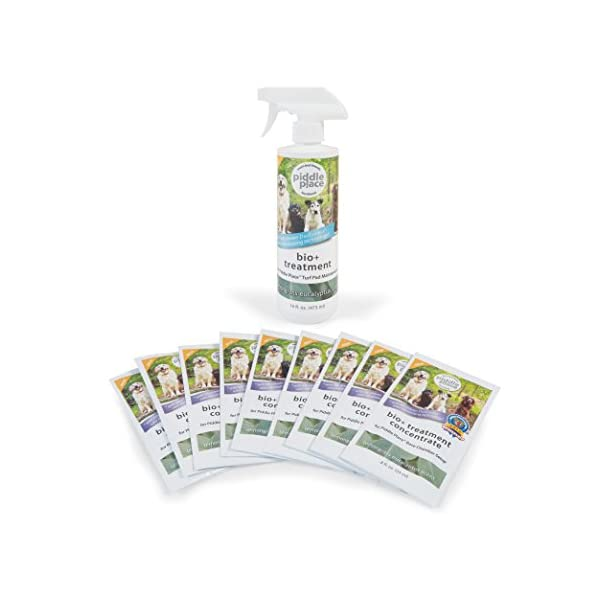 Piddle Place 9 Week Bio Plus Enzyme Treatment and Turf Maintenance Value Pack 1