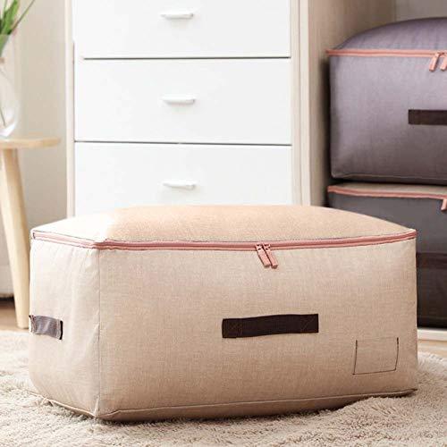 Storage bag Aufbewahrungstasche Für Bettdecken und Kissen | Tragetasche Für Bettwäsche Oder Matratzenauflagen | Praktische RV-Box aus Fleece | 59,5 * 40 * 28cm,3