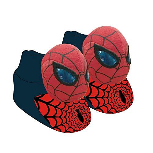 size 40 a7fb1 1893c Cerdá Zapatillas de Casa 3D Spiderman, Pantofole Bambino, Rosso (Rojo C06),