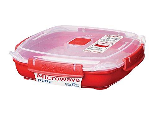 Sistema 1105 Mikrowellen-Teller 880 ml, rot
