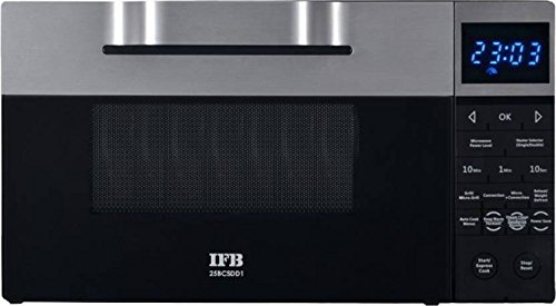 IFB 25 L Convection Microwave Oven (25BCSDD1, Black)