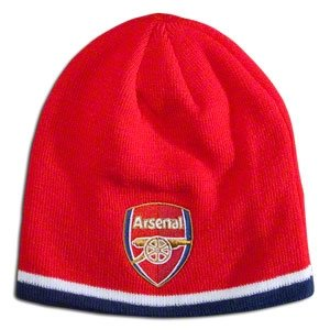 Original FC Arsenal London Wintermütze Bronx Knitted Mütze Beanie NEU Hut Erwachsen - Arsenal-fußball-hut Fc