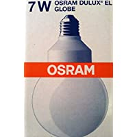 Osram Dulux EL Globe 7W equivalente a 40Watt, 350lumen, 230V