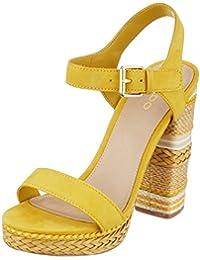 f94db3167e27 Amazon.co.uk  Yellow - Sandals   Women s Shoes  Shoes   Bags