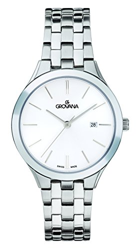 GROVANA Womens Analogue Classic Quartz Watch with Stainless Steel Strap 5016.1132