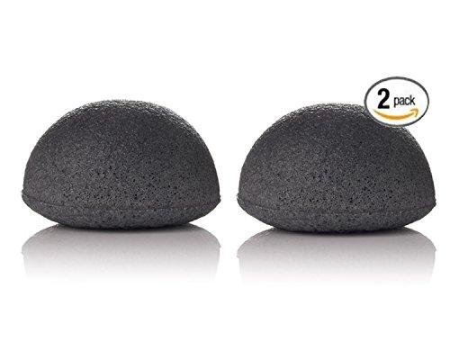 charbon-de-bambou-konjac-sponge-exfoliant-detoxifiant-beaute-lot-de-2-eponges