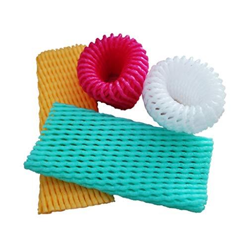 Fruit Cover Vegetable Anti-Blinking Egg Foam Netting Erdbeer-Orange Sub-Bag-Tasche Apple-Tasche Multi-Size-Weiß (größe : 10 * 6cm (500 Pieces))