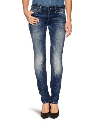 g star midge cody skinny G-STAR Damen Skinny Jeanshose Midge Skinny Wmn, Gr. W29/L30, Blau (Medium Aged 4631.071)