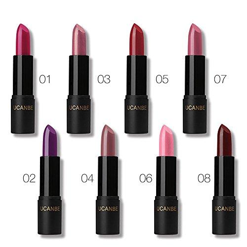 Gaddrt donne trucco rossetto bellezza a lunga durata impermeabile rossetto lucidalabbra, C B