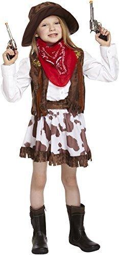 Cowgirls Kinder Kostüm - KOSTÜM KINDER COWGIRL MEDIUM 7-9 JAHRE