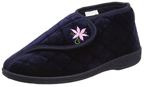 Dunlop Celia, Zapatillas de Estar Por Casa para Mujer, Azul-Azul (Navy), 38 EU