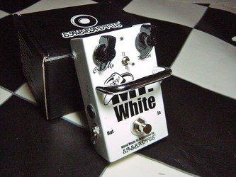 Sabbadius Efectos personalizados pedal Mr. White 2 Booster