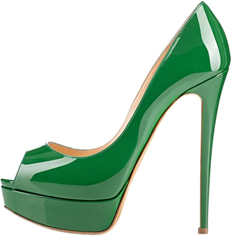 Calaier Donna Casoup 16CM Tacco Tacco Tacco A Spillo Scivolare Su Sandali Calzature | Conosciuto per la sua eccellente qualità  cc3622