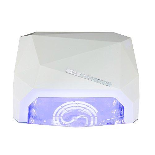 Preisvergleich Produktbild SAILUN UV-Nagellampe Professionelle Nagel-Trockner 36W für Schellack Nagellack und Gel mit Auto 30s Sensor + 3 Zeiteinstellungen (Weiß)