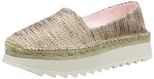 ReplaySolan - Espadrillas Donna , Oro (Gold (COPPER 496)), 37