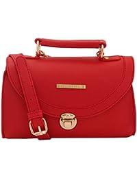 Lapis O Lupo Tuscan Red Women Sling Bag (Red)