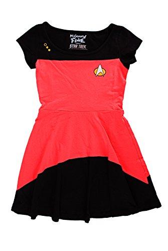 eneration Juniors Red Costume Dress | M (Star Trek-kleidung)