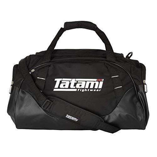 Tatami Sporttasche Competitor Kit Bag Schwarz - Trainingstasche Gym Tasche für Kampfsport Jiu Jitsu Fitness Boxen Muay Thai BJJ Training -