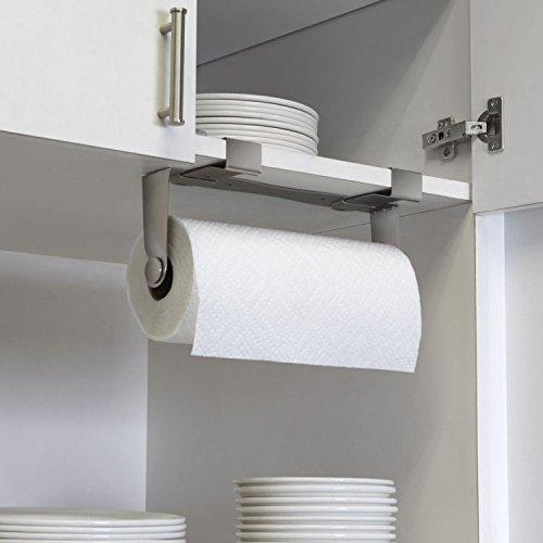 AJUNR-edelstahl - papier handtuchhalter, wc - papier -, traceless freien stanzen rack (Nickel Handtuchhalter Halter)