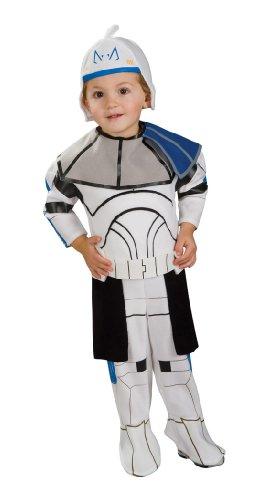 Rubie's Star Wars Clone Trooper Baby Kinder Jungen Halloween Fasching Karneval Kostüm 68-80 (Wars-halloween-kostüm Baby Für Star)