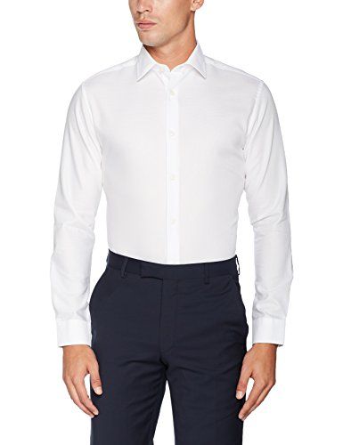 SELECTED HOMME Herren Businesshemd Shdonepen-Rick Shirt Ls Noos Weiß (White)