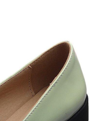 WSS 2016 Chaussures Femme-Bureau & Travail / Habillé / Décontracté-Noir / Vert / Rose-Talon Compensé-Compensées / Confort / Bout Arrondi-Talons- green-us7.5 / eu38 / uk5.5 / cn38