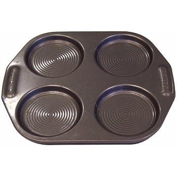 Circulon Bakeware Steel 4 Cup Non-Stick Yorkshire Pudding Tin - Grey
