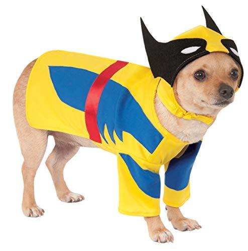 Wolverine Kostüm Hunde - Marvel Universe Wolverine Haustierkostüm, Extra-Large,
