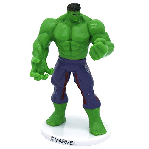 Dekora Cake Topper Figur für Tortendekoration, Marvel Avengers Hulk (Marvels Avengers Party Supplies)