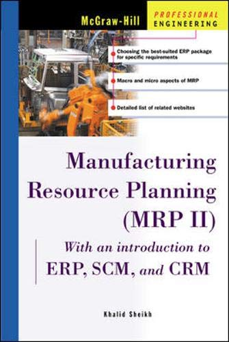 Manufacturing Resource Planning (MRP II) (McGraw-Hill Professional Engineering)
