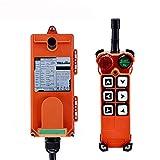 MXBAOHENG Telecomando Radio Industriale Gru di Sollevamento Telecontrol F21-E1 Controllo Wireless per Gru 1 Trasmettitore +1 Ricevitore (220 V)