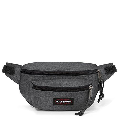 Eastpak Doggy Bag Marsupio portasoldi, 27 cm, 3 L, Grigio (Black Denim)