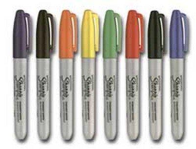 sharpie-marcatore-sharpie-rosso-permanente-pfine-confezione-12