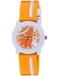 Zoop Analog Orange Dial Children's Watch -NDC3025PP29C