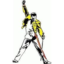Freddie Mercury Queen Musik Hochwertigen Auto-Autoaufkleber 8 x 12 cm