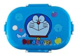 A.V.Kids Cartoon Printed Steel Lunch Box for School Kids/Rectangular Shape/Includes Curry Box/Spoon/ Food