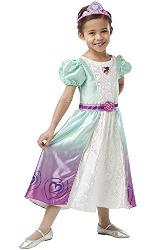 Rubie's 3640990 Kostüm, Mädchen, weiß-lila, Toddler (Kostüm Batgirl Lila)