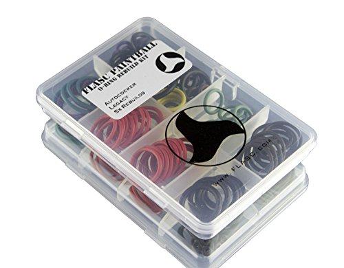 Autococker Legacy 5x farbig Paintball O-Ring Rebuild Kit von Flasc Paintball