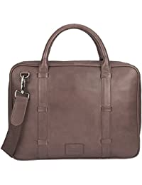 Outback Creek Leather Laptop Bag For Macbook 13""