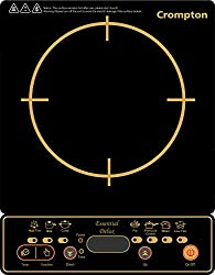 Crompton ACGIC-ESS2 1500-Watt Cooktop (Black and Gold)