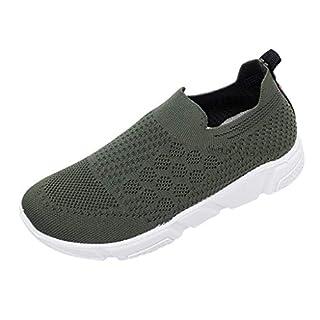 hahashop2 Laufen im Freien atmungsaktive Schuhe für Damen Niedrige Netzschuhe Sportliche Sportarten Wandern Segeltuch Slip On Jogging Schnürschuhe Leichte,Shock-Slipper Wasser Aqua Walking