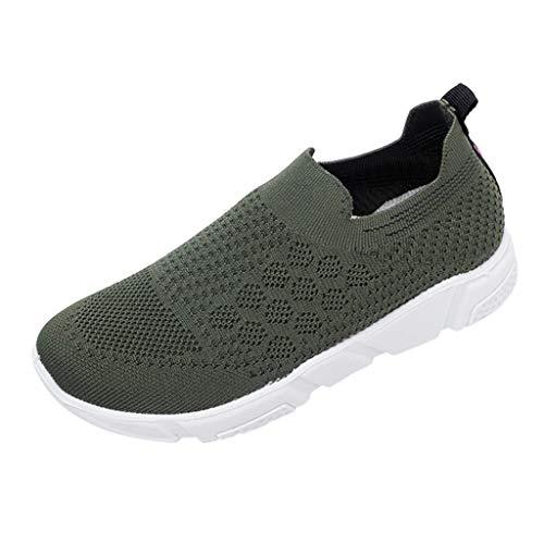 Makalon Paar Mode Freizeit Laufsport Socken Schuhe Damen Student Beiläufig Elastisch Leichtgewichtige Turnschuhe Mädchen Sport Schuhe Stiefeletten Slip On Schuhe Net Schuh -