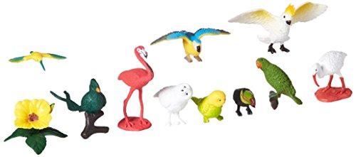 Safari  Miniature di Plastica  In Toobs-Exotic Ucelini