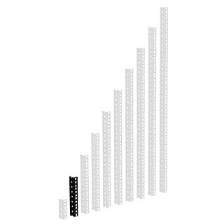 ah Hardware 61535B4 Adam Hall 48,26 cm (19 Zoll) Parts HD Rackschiene 4 HE schwarz