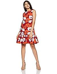 United Colors of Benetton Women's Peplum Mini Dress