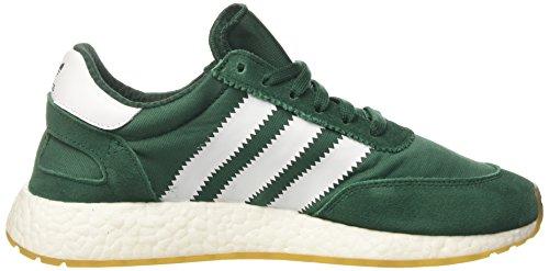 adidas Iniki Runner, Sneaker a Collo Basso Uomo Verde (Collegiate Green/Ftwr White/Gum 3)
