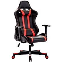Silla Gamer, IntimaTe WM Heart Silla Gaming Silla Escritorio Giratoria, Altura Ajustable Respaldo Inclinable