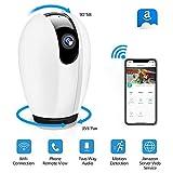 DIGOO WLAN IP Kamera, WiFi Überwachungskamera mit Nachtsicht Bewegungserkennung, 2 Wege Audio, 355°/90°Schwenkbar, Baby Monitor, Sicherheitskamera unterstützt Mobile App Kontrolle