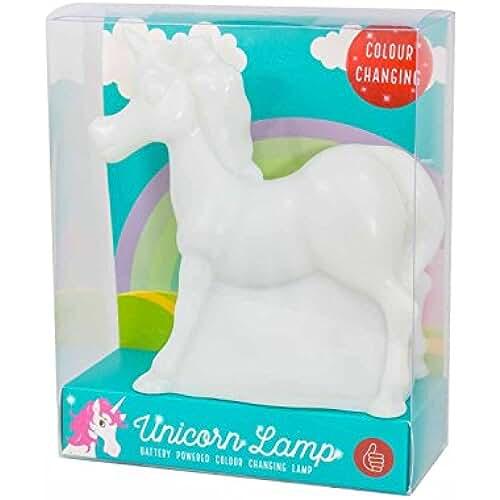 unicornios kawaii 50 cincuenta unicornio cambio de color de la lámpara