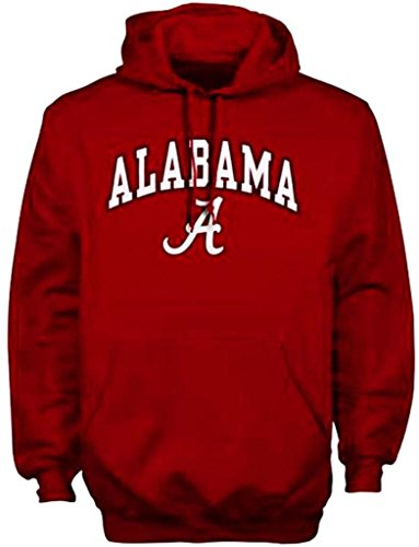 Alabama Crimson Tide-Felpa con cappuccio, motivo: Cappello Berretto University
